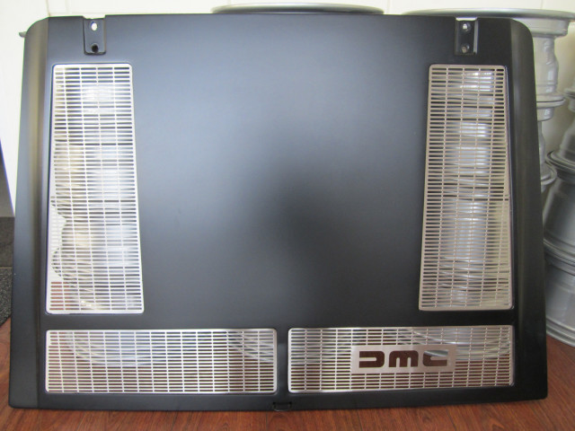 LOWER ENGINE COVER GRILL STAINLESS