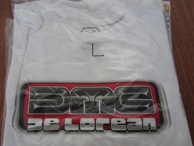 T SHIRT DMC DeLorean