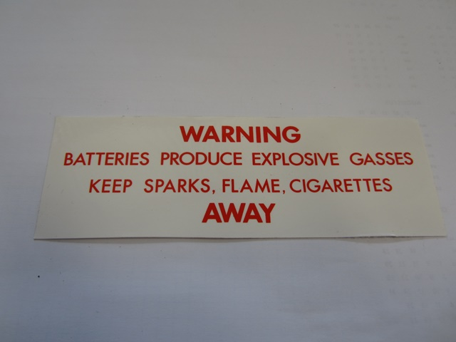 LABEL: BATTERY GASES
