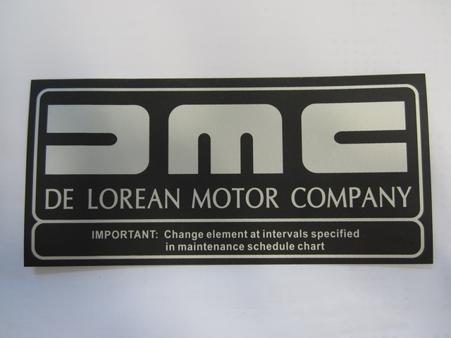 LABEL: AIR FILTER DMC