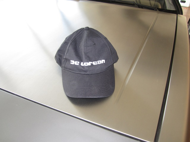 DELOREAN CAP