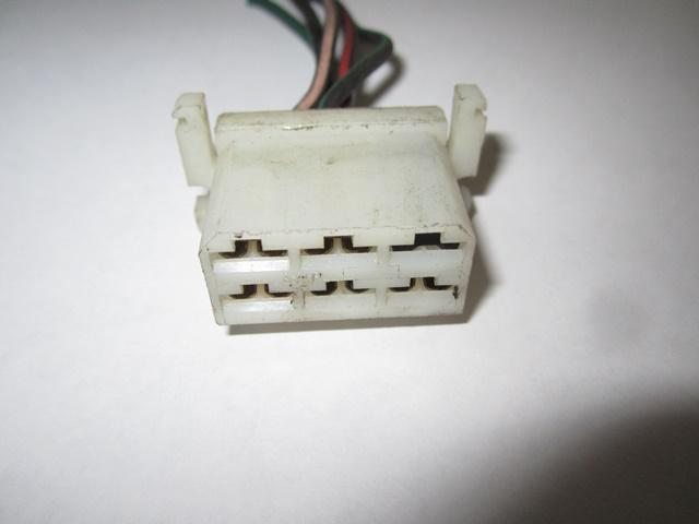 USED ecu CONNECTOR